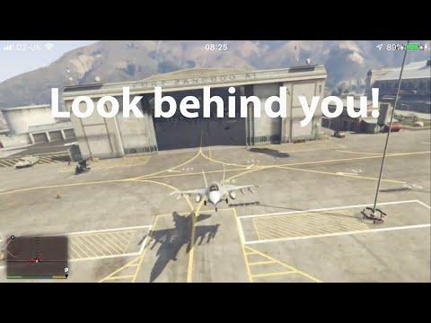 Grand Theft Auto V - How to steal P-996 LAZER - смотреть онлайн на