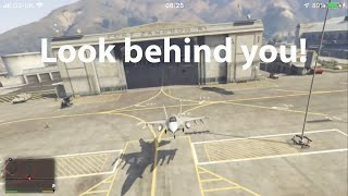 Easiest ways to steal a jet in GTA V (P-996 Lazer)