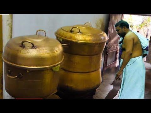 Kanchipuram Kovil Idly #World Biggest Shocking Size Idly Making