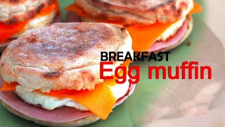 Homemade Egg McMuffine |Breakfast specials | Make your own McMuffin | Unknown Mood