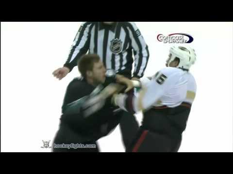 Ryane Clowe vs. George Parros