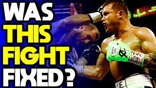 LET'S GET TO THE BOTTOM OF THIS! Was the CANELO vs KOVALEV fight FIXED?