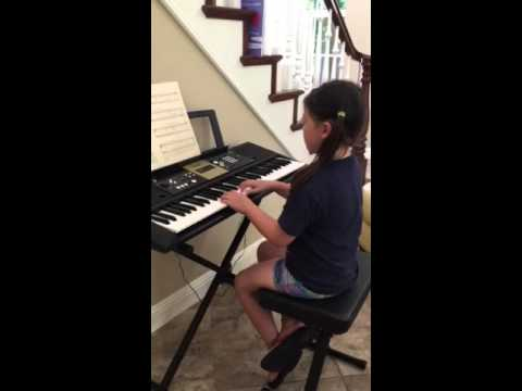 Those Endearing Young Charms  Little Hanna playing the song from her grandmother's old piano book