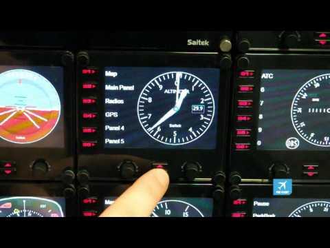 Видео № 0 из игры Saitek Pro Flight Instrument Panel многофункциональная панель