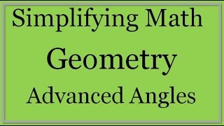 Angles Lesson Part 2: Combining Angles
