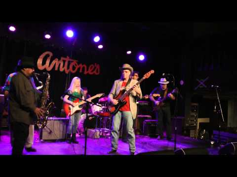"""""""Goin' to New York,"""" Bobby Shehorn & the Gully Cats, Antone's, Dec.16, 2013"""