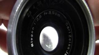 旧コンタックス用・戦前ビオゴン35mmF2.8