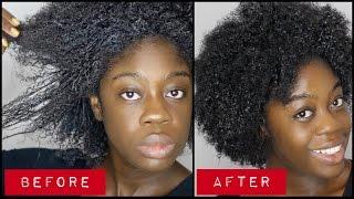 Steam Treatment for Heat Damaged Natural Hair