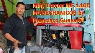 Mini Tractor Casero - MF 1105 by Makechanicos a la Mexicana
