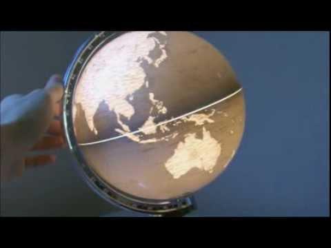 20CM Globus Globen Erdglobus Leuchtglobus Weltkugel MIT LICHT