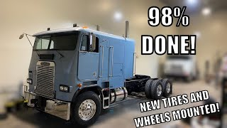 WILL IT START? The Freightliner Cabover has New Tires, Fuel, and Dual Stacks!