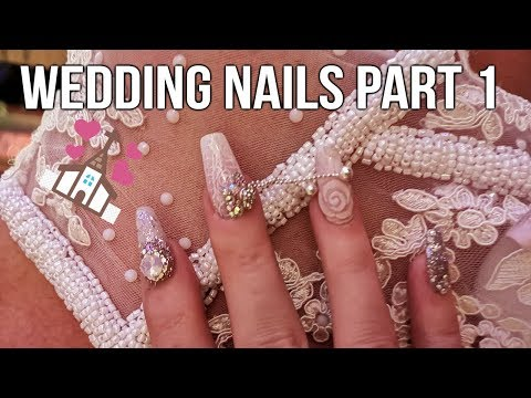 WEDDING NAILS - MATCHING NAILS TO SHOES - PART 1
