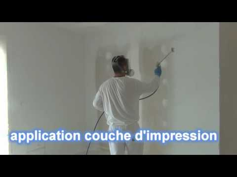 Search result youtube video peinture airless - Peinture plafond trace ...