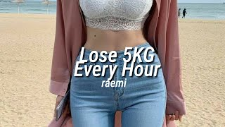 Loss 5KG Every Hour ✧ strong subliminal (listen once)