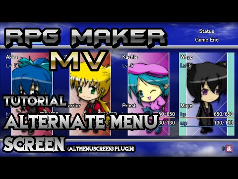 Bust graphics in the menu :: RPG Maker MV General Discussions