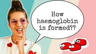 Formation of hemoglobin