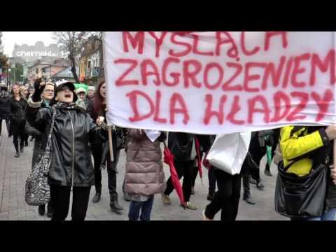Czarny Protest w Chełmie | 24.10.2016