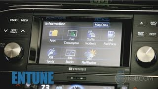 Toyota Entune Infotainment Review - Kelley Blue Book