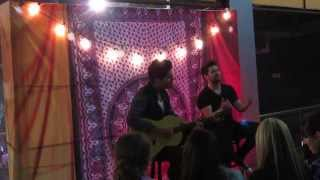 """Dan + Shay """"Party Girl"""" Acoustic Session live at Mohegan Sun 5/3/14"""