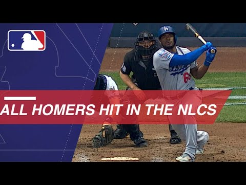 Watch all the home runs hit in the 2018 NLCS