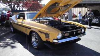 1971 Ford Mustang Mach 1 In Depth Interior and Exterior Overview