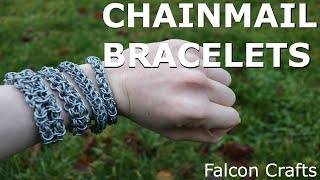 MAKING CHAINMAIL BRACELETS!