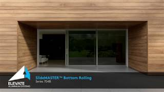 704B SlideMASTER™ Sliding Door (Bottom Rolling)