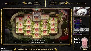 Jumanji – LONGEST BONUS EVER? – BIG WIN 270x – Euky / Slots, Casino