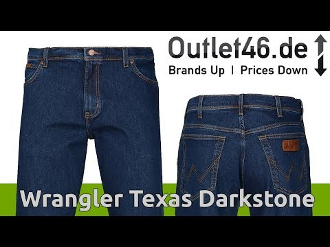 Wrangler Texas Herren Jeans Blau  l NICE PRICE ! l Review l On Body l Haul l Outlet46.de