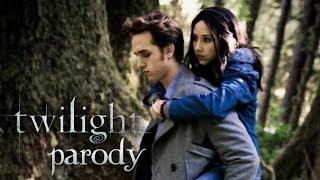 """Сумерки-Twilight, 'Twilight' Parody - By """"The Hillywood Show"""" Пародия на Сумерки 1 часть"""