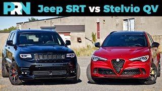 Jeep Grand Cherokee SRT vs Alfa Romeo Stelvio Quadrifoglio