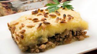Receta De Pastel De Patatas Y Carne Picada - Karlos Arguiñano