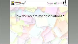 EYFS Observations