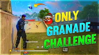 Power Of Grenade || Only Grenade  Challenge || Clash Squad - Free Fire