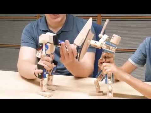 Vorschau: Helden aus Holz Bausatz ab 3 bis 12 Jahre