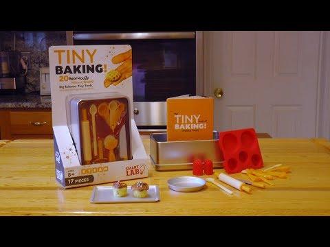 Youtube Video for Tiny Baking - World's Smallest Baking Set