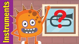 What's in the Window - Musical Instruments | Fun Kids English