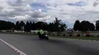 preview picture of video 'Vožnjica po karting stazi COBRA Virovitica'
