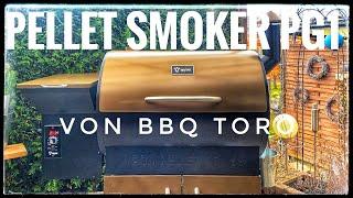 Pellet Smoker PG1 von BBQ Toro Unboxing/Vorstellung   Grilltrend 2020
