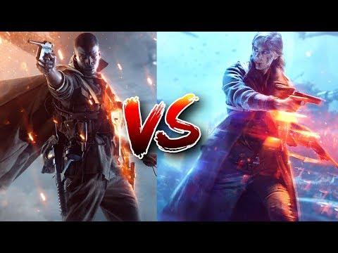 battlefield 5 vs battlefield 1 reveal trailer comparison bf1 vs bf5