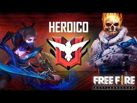 LLEGANDO A HEROICO EN UN NOCHE | Free Fire | Esteban Gonzalez
