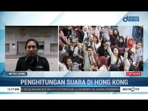 Pantauan Proses Penghitungan Suara Pemilu 2019 di Hong Kong
