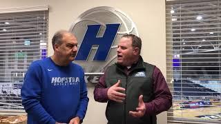W.B. Mason Coaches Report with Hofstra Coach Joe Mihalic
