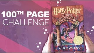 100th Page Drawing Challenge. Harry Potter.