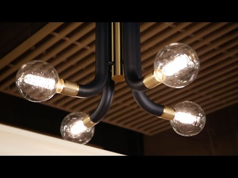 Video for Desmond Polished Nickel Six-Light Chandelier