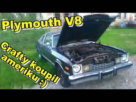 Event-VLOG #64 - Crafty koupil ameriku :) Plymouth 5,2 V8