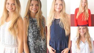 Sommer & Sale Haul | Zara, Forever21, Bershka ...