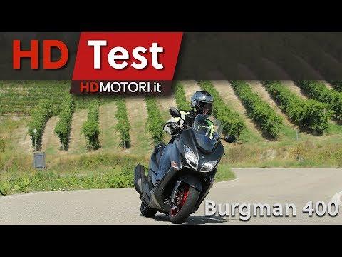Suzuki Burgman 400: anteprima e test ride maxi scooter