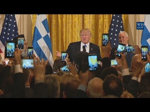 Full Speech: President Trump Hosts a Greek Independence Day Celebration 3/24/17