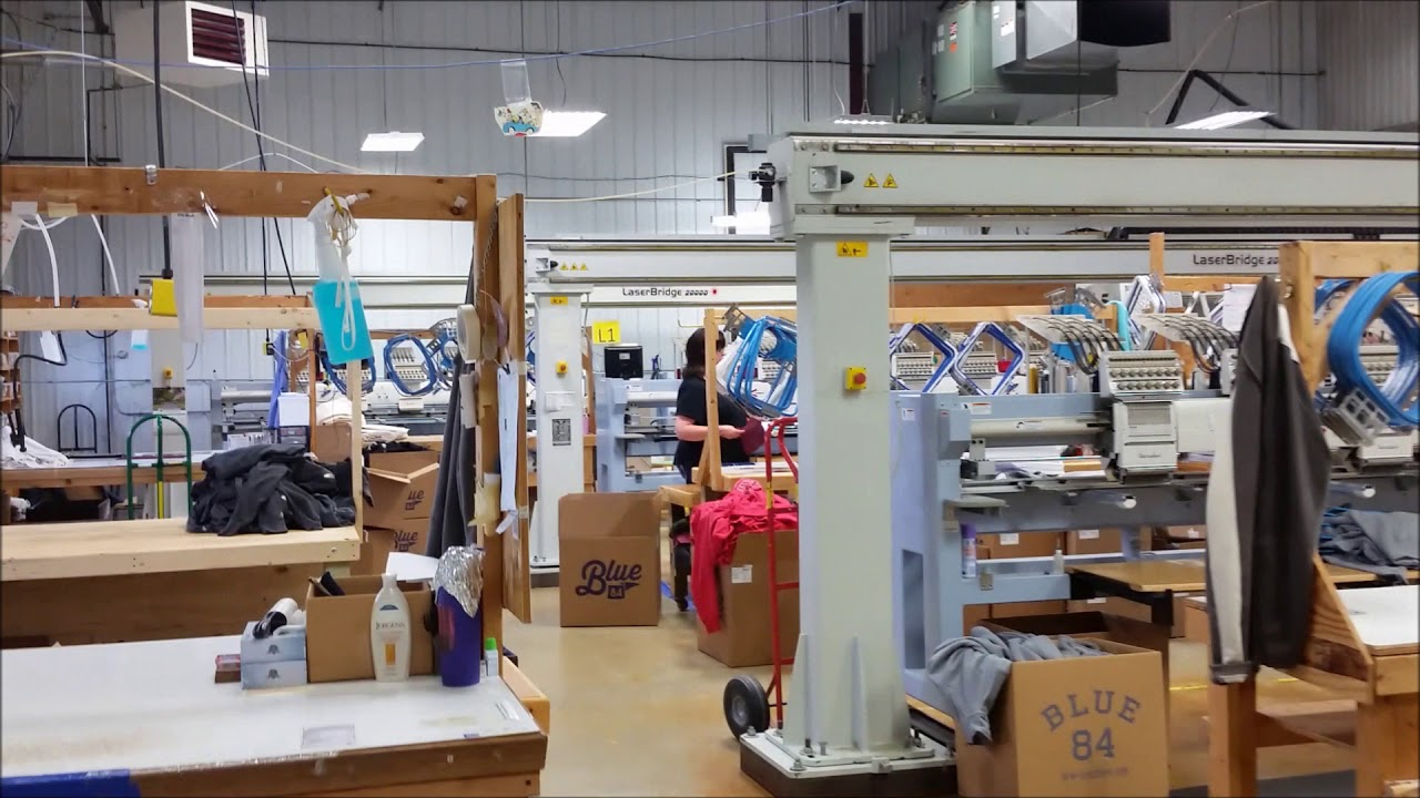 Visit at LakeShirts with LaserBridge Machines